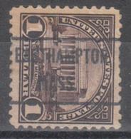 USA Precancel Vorausentwertung Preo, Locals Massachusetts, Easthampton 571-471 - United States