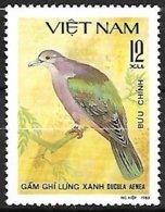 VIETNAM - MNH - 1981 - Green Imperial Pigeon    Ducula Aenea - Tauben & Flughühner