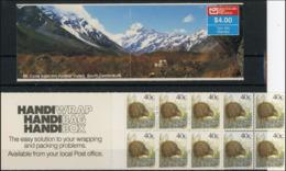 Nouvelle Zelande 1991 Mushrooms Champignons Fixé Gauche MNH - Mushrooms