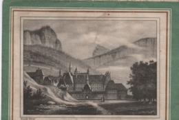 """Prospectus Publicitaire à 3 Volets/ Historique De  La Liqueur """"La Grande Chartreuse""""VOIRON / Isére/1934  VPN255 - Altri"""