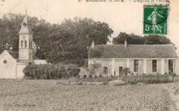 MALNOUE ( 77 ) - L' église Et L' école - Frankreich