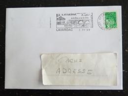 LAVARDAC - LOT ET GARONNE - FLAMME AU CONFLUENT DE LA BAÏSE ET DE LA ... SUR MARIANNE LUQUET - Poststempel (Briefe)