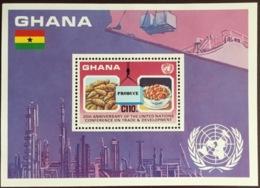 Ghana 1985 United Nations Conference Minisheet MNH - Ghana (1957-...)