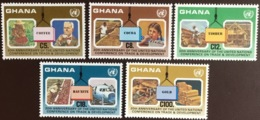 Ghana 1985 United Nations Conference MNH - Ghana (1957-...)