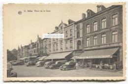 Arlon - Place De La Gare - C1940's Belgium Postcard - Arlon