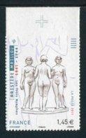 """TIMBRE** De 2011 Autoadhésif En Bord De Feuille """"1,45 € - ARISTIDE MAILLOL Les Trois Nymphes"""" - Autoadesivi"""