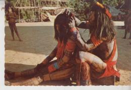 Suriname.. Animée.. Ethnies.. Tribu Wayana.. Amerindians Of Thes Wayana Tribe - Surinam