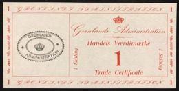 Greenland Groenlandia Trade Certificate 3 Notes 1 5 20 Skilling 1942 Pick#M8 M9 M10 UNC Fds Lotto.2519 - Grönland