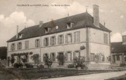 VILLEMAUR SUR VANNE  ( 10 ) - La Mairie Et L'école - France