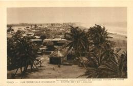 TOGO VUE GENERALE D'ANECHO ENTRE MER ET LAGUNE - Togo