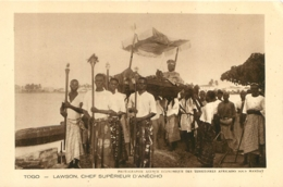 TOGO LAWSON CHEF SUPERIEUR D'ANECHO - Togo