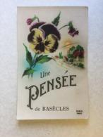 UNE PENSEE DE BASECLES  1957 - Beloeil