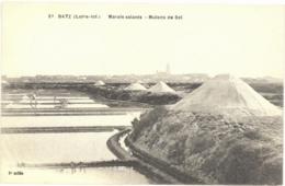 CPA BATZ - Marais Salants - Mulons De Sel - Batz-sur-Mer (Bourg De B.)