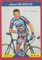 Coureur Cycliste / Wielrenner / Ciclista - Johan Museeuw ( Belgium ) - Team Mapei 1997 - Radsport