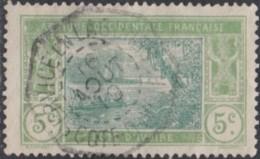 Côte D'Ivoire 1913-1944 - Service En Lagunes Sur N° 44 (YT) N° 44 (AM). Oblitération De 1919. - Costa De Marfil (1892-1944)