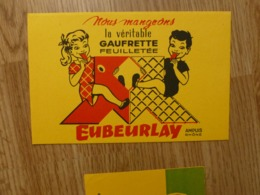 BUVARD GAUFRETTE EUBEURLAY - Cake & Candy