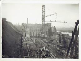 SA OUGREE-MARIHAYE -PHOTO Janvier 1925 (24 X 18 Cm) -Construction Accumulateurs à Minerais & à Charbon Par PIEUX  FRANKI - Lieux