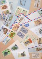 ÎLES FALKLAND FALKLAND ISLANDS - Beau Lot De 103 Enveloppes Oblitérées Air Mail Cover Aérogramme Letter Stamp Timbre - Falklandinseln