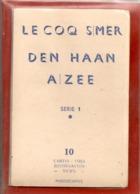 LE COQ S/MER - DEN HAAN - Serie 1 -boekje Met 10 Kkaarten - De Haan