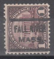 USA Precancel Vorausentwertung Preo, Locals Massachusetts, Fall River 571-622 - United States