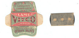 Lame De Rasoir Française VITCO - French Safety Razor Blade Wrapper - Razor Blades