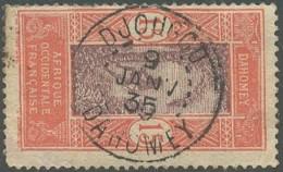 Dahomey 1912-1944 - Djougou Sur N° 48 (YT) N° 59 (AM). Oblitération. - Usados