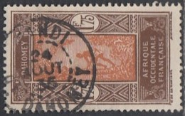 Dahomey 1912-1944 - Kandi / Ht-Dahomey Sur N° 96 (YT) N° 95 (AM). Oblitération De 1935. - Usados
