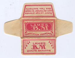 Lame De Rasoir Française BM - French Safety Razor Blade Wrapper - Razor Blades