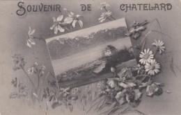 Souvenir Du Châtelard, Commune De Montreux - 1913 - VD Waadt