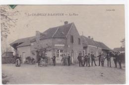 Saône-et-Loire - La Chapelle St-Sauveur - La Place - France