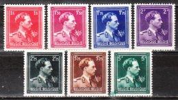 690/96**  Leopold III Col Ouvert Avec V Et Couronne - MNH** - Vendu à 10% Du COB!!!! - 1936-1957 Col Ouvert