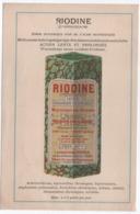 Prospectus Publicitaire/Pharmacie/ RIODINE/ Iode Organique Assimilable/Laboratoires ASTIER/Paris/vers 1920-1930   VPN256 - Altri