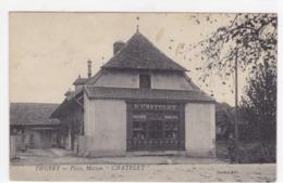 """Saône-et-Loire - Thurey - Place, Maison """"Chatelet"""" - France"""