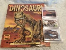 Dinosauri Album Vuoto+set Completo Figurine FOL. BO Entra X Descrizione - Stickers