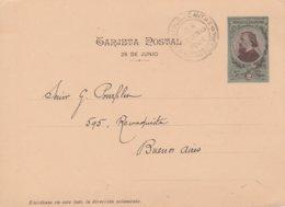 Argentine Entier Postal Illustré 1901 - Interi Postali