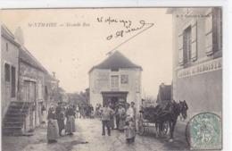 Saône-et-Loire - St-Ythaire - Grande Rue - France