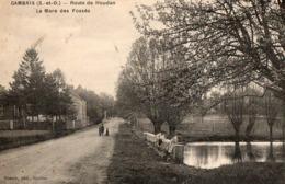 GAMBAIS ( 78 ) - Route De Houdan, La Mare Des Fossés - France