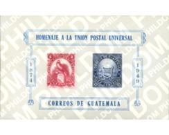 Ref. 32123 * MNH * - GUATEMALA. 1951. 75th ANNIVERSARY OF UPU . 75 ANIVERSARIO DE LA UPU - Guatemala