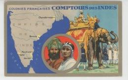 ASIE - COLONIES FRANCAISES - COMPTOIRS DES INDES - Edit. Spéciale Des Produits Du Lion Noir - India