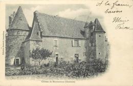 - Charente -ref-B917- Montmoreau - Chateau - Chateaux -  Carte Bon Etat - - Francia