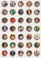 70 X Paul McCartney Music Fan ART BADGE BUTTON PIN SET 3-4 (1inch/25mm Diameter) - Music