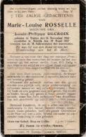 Wervik, Wervicq, Staden, 1927, Marie Rosselle, Decroix - Imágenes Religiosas