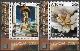 2003 Abchasien Republic Of Abkhazia  **MNH - Europa-CEPT