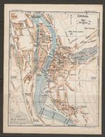 CARTE PLAN 1927 - ÉPINAL ARSENAL CHAMPS De MARS MÉTÉO CASERNES RUINES Du CHATEAU - Topographical Maps