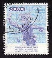 SRI LANKA 2000  - YT   1242 -  Danseur  Traditionnel .  - Oblitéré - Cote 2e - Sri Lanka (Ceylan) (1948-...)