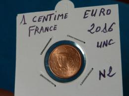 1 CENTIME EURO FRANCE 2016 Unc  ( 2 Photos ) - France