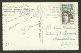 Surtaxé 0.15 + 0.05 DENIS PAPIN / C.P. 5 Mots / RIOM 09.11.1962 / Gare De Clermont Ferrand - 1961-....