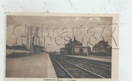 Aubevoye (27) : Le Côté Des Voies Et Des Quais De La Gare En 1930 PF - Aubevoye