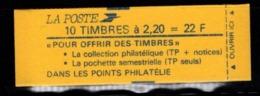 Carnet YT 2376 C5 LIBERTE DE DELACROIX 2,2frs Fermé - Markenheftchen