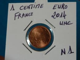 1 CENTIME EURO FRANCE 2014 Unc  ( 2 Photos ) - France